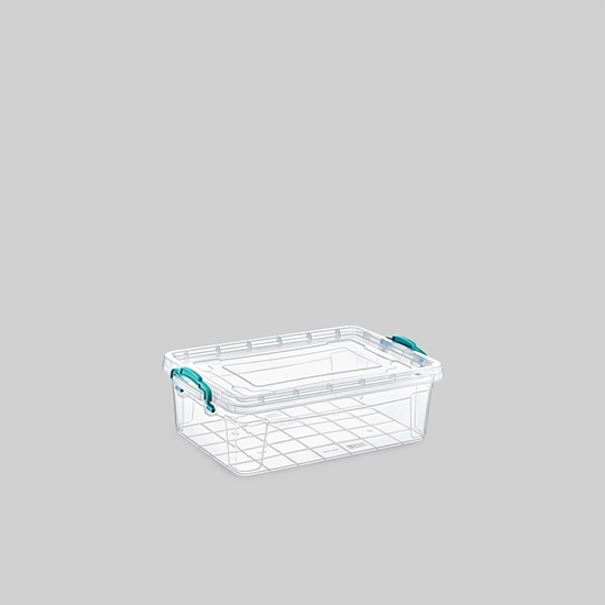 صورة Poly Time - Storage box, 1L - 21 x 14 x 5.7 Cm