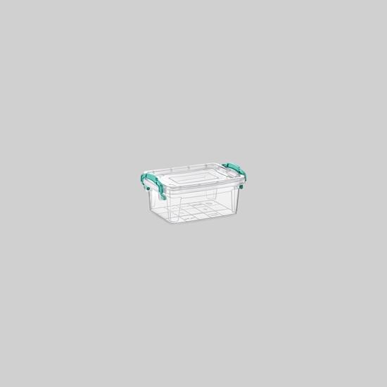 صورة Poly Time - Storage box, 0.32L - 12 x 8 x 5 Cm