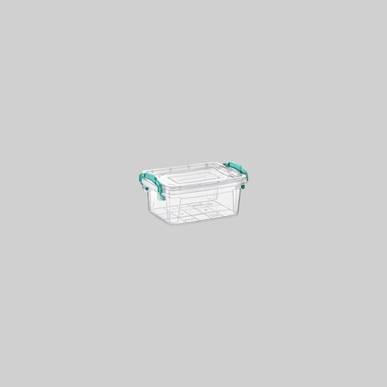 صورة Poly Time - Storage box, 0.5L - 15.5 x 10.5 x 5 Cm