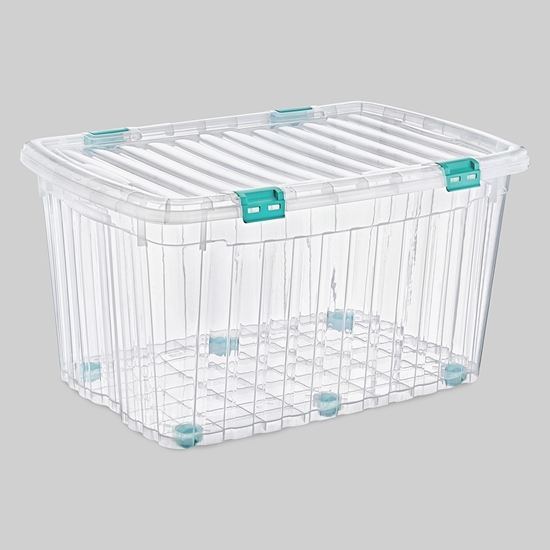 صورة Poly Time - Storage box, 120L - 55 x 82 x 45 Cm
