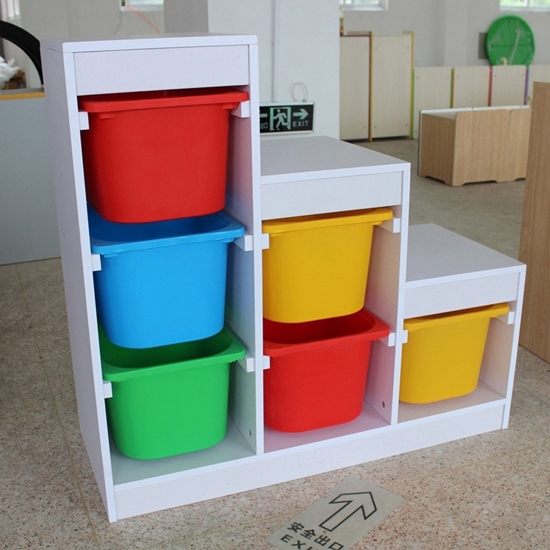 صورة Children's Cabinet with 3 Levels - 99 x 40 x 94 Cm