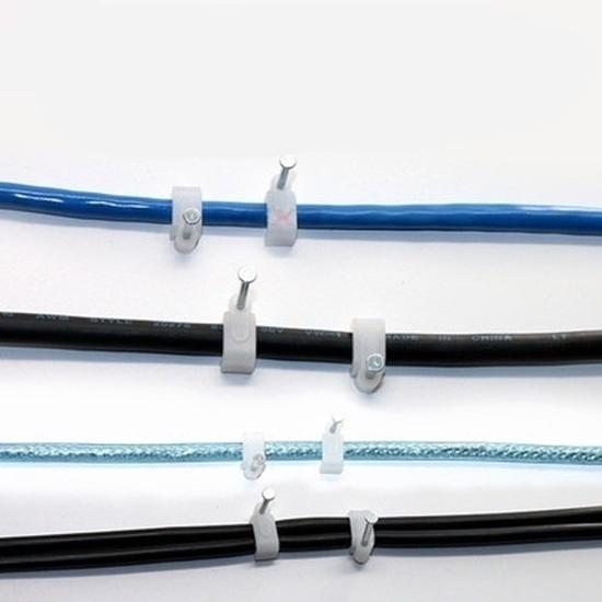 صورة Round type steel nail wire card - 10mm