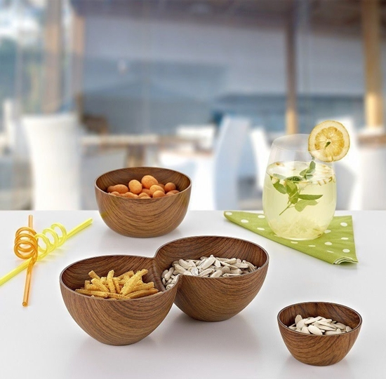Picture of Evelin - Snack bowl - 12.5 x 25 x 7 Cm