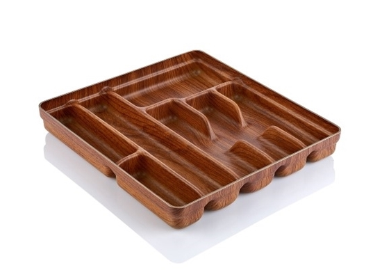 Picture of Evelin - Cutlery Tray, 7 compartment - 32 x 36 x 4.5 Cm