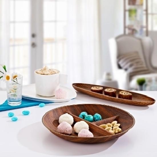 صورة Evelin - Tokyo Round Snack Dish - 24.5 x 3.5 Cm