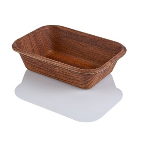 صورة Evelin - Oval Bread Basket - 20.5 x 29 x 6.5 Cm